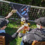 Sportfreunde Kinder sind aktiv