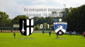 Pflichtspielauftakt bei den Sportfreuden Untergriesheim am 16.08.2020