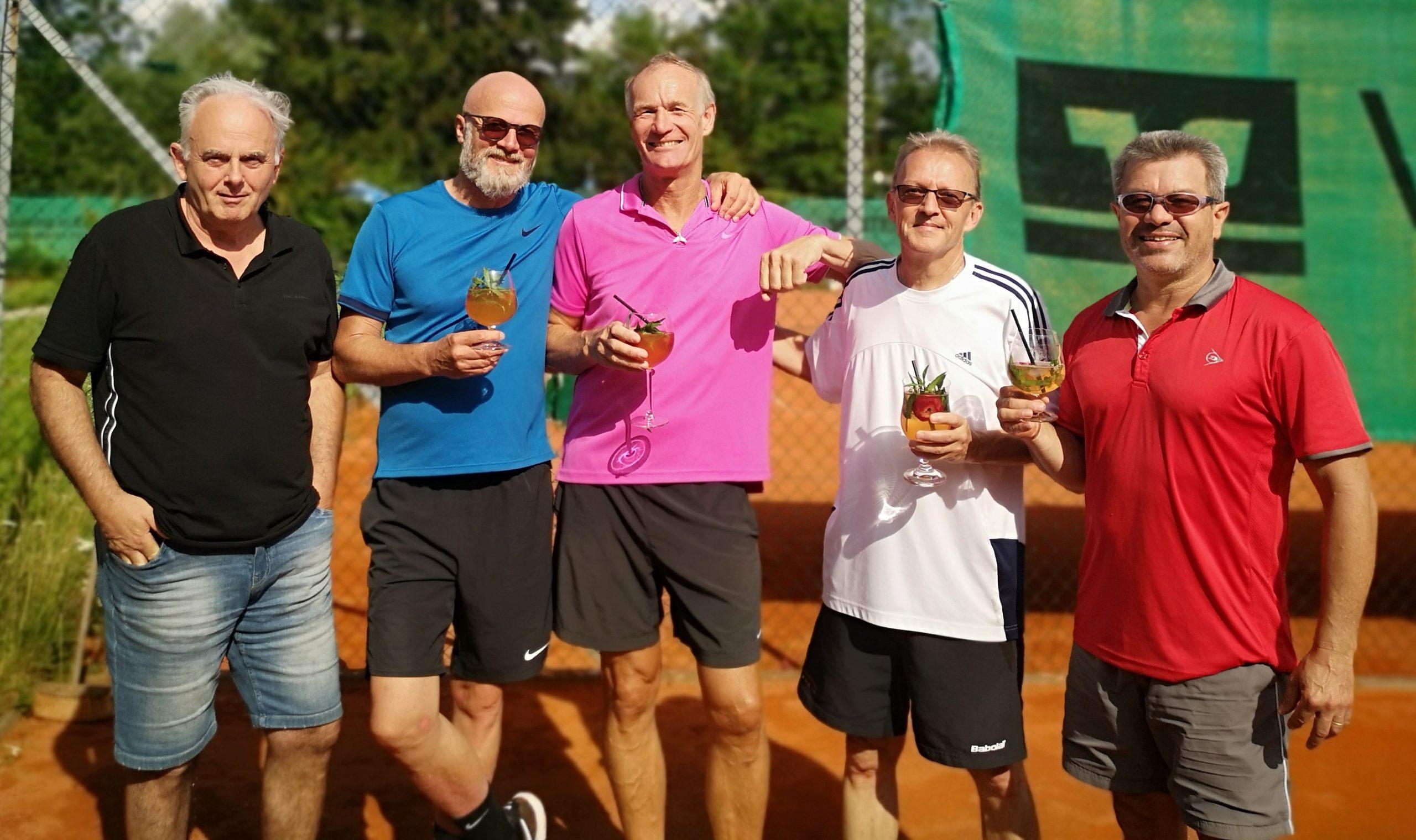 You are currently viewing Herren 50 erfolgreich in die neue Tennissaison gestartet